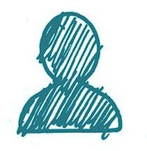 person sketch icon